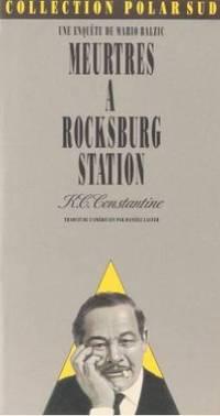 Meurtres à Rocksburg station by Constantine K. C - 1992 - from Livre Nomade (SKU: 30254)