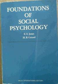 image of Foundations of Social Psychology