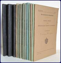 METROPOLITAN DISTRICT COMMISSION. ANNUAL REPORT. 1920-1934.