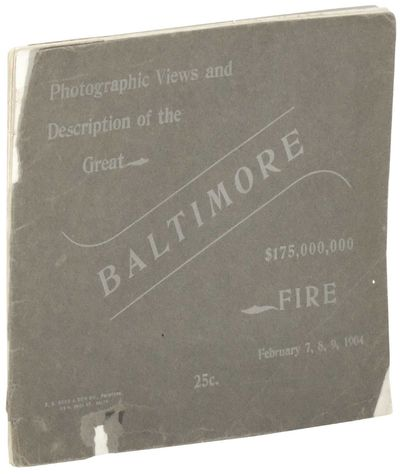 Baltimore, 1904. Paperback. Good. Paperback. Disbound. Includes a one page essay, 12 full page photo...