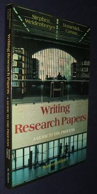 image of Writing Research Papers: a Guide to the Process