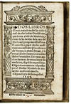 View Image 1 of 2 for VERY RARE FIRST EDITION (1565) INFLUENTIAL EARLY WORK ON AMERICAN BOTANYDos libros. El uno trata de ... Inventory #5777