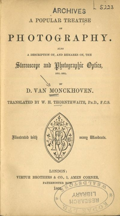 London: Virtue Brothers, 1863. First English language edition. 12mo., 137 pp., 4, 7, over 100 b&w wo...