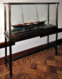 [MODEL OF THE STEAM YACHT OWNED BY J. PIERPONT MORGAN, THE CORSAIR II]