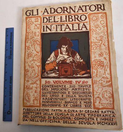 Bologna: Impresso coi tipi della Scuola d'arte tipografica del Comune di Bologna, 1926. Softcover. V...