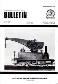 image of ARHS Bulletin Vol XXXVI, No 572, June 1985
