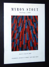 Myron Stout: Paintings, c. 1950, March 8 - April 16, 2005