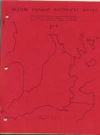 Western Ontario Historical Notes December 1955