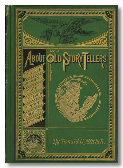New York: Scribner, Armstrong & Co., 1878. xiv,,237pp. Heavily gilt decorated pictorial green cloth,...