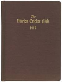 The Merion Cricket Club: Charter, By-Laws, Officers And Members 1917 - Used Books