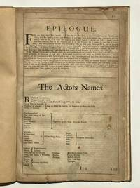 The Life of Henry V. Extracted from the 'Fourth Folio' by WILLIAM SHAKESPEARE - Hardcover - 4th Edition - 1685 - from Modern First Editions Ltd (SKU: 11014)