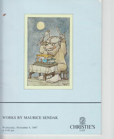 New York: Christie's. 1987. First Edition; First Printing. Softcover. Wraps, auction catalog, fine b...