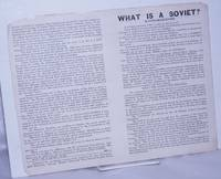 image of What is a Soviet