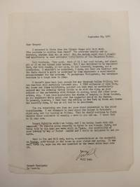 Signed Typed Carbon Letter