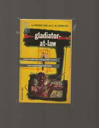 Gladiator-at-Law by  C.M  Frederik / Kornbluth - Paperback - PBO First Edition - 1955 - from Acorn Books (SKU: 021062)