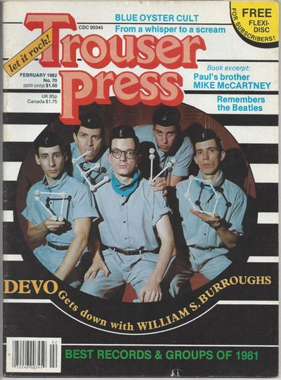 New York: Trouser Press, 1982. Paperback. Very Good. New York: Trouser Press, 1982. Very Good. Isler...