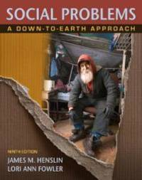 image of Social Problems: A Down-to-Earth Approach (9th Edition)