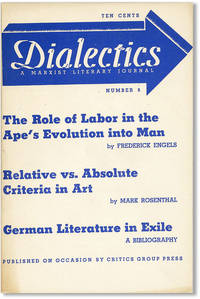 Dialectics: A Marxist Literary Journal, No. 8