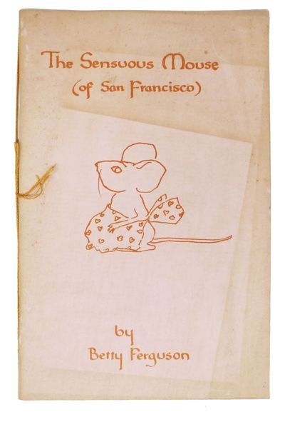 (San Francisco?), 1976. 1st printing (presumed). Peach-colored card stock covers, stapled. Orange st...
