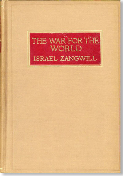 New York: Macmillan Company, 1916. First American Edition. Thick octavo (19.5cm.); original tan clot...