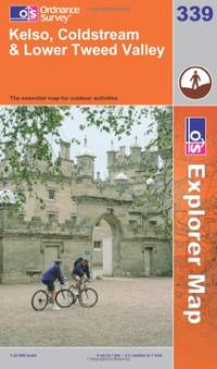 image of Kelso, Coldstream and Lower Tweed Valley (OS Explorer Map Series)