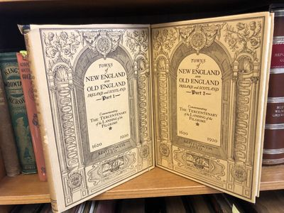 New York: G. P. Putnam's Sons, 1921. Hardcover. Quarto, 225/225 pages; dust jackets are brown with b...