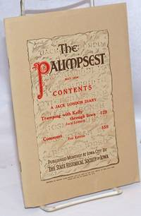 image of The Palimpsest, May 1926, vol. 7, no. 5. A Jack London diary