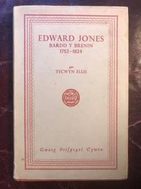Edward Jones Bardd Y Brenin 1752- 1824  Hardcover