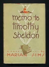 Memo to Timothy Sheldon