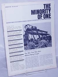 image of The minority of one; 1966, Jan, Vol. 8 No. 74 (whole number) independent monthly publication, dedicated to the elimination of all thought restrictions except for the truth [subhead later modified to read] Independent monthly for an American alternative --dedicated to the eradication of all restrictions on thought [broken run, 67 unduplicated items]