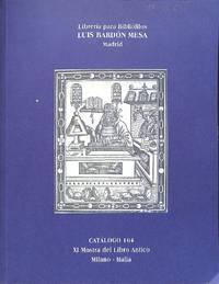 Vente 10-12 March 2002.XI Mostra del Libro Antico Milano, Libros antiguos  y manuscritos.