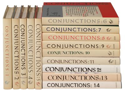 New York: Conjunctions, 1981. Hardcover. Fine/Fine. Fourteen volumes, all first editions. Owner name...
