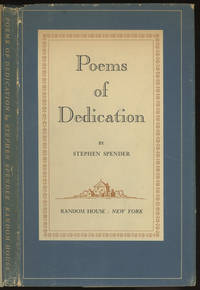 image of Poems of Dedication