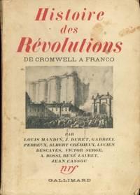 HISTOIRE DES REVOLUTIONS