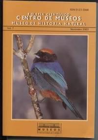Boletin Cientifico Centro De Museos Museo De Historia Natural, Vol 7.