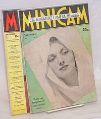 Minicam: The Miniature Camera Monthly. Vol. 1 No. 1, September 1937 [with] Vol. 1 No. 2, October 1937 [two numbers together as a small lot]