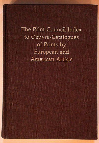 Millwood, NY and London, England: Kraus International Publications, 1983. Hardcover. Near Fine. Hard...