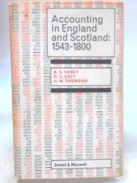 Accounting in England and Scotland: 1543-1800. Double entry in exposition and practice