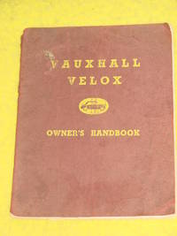 Vauxhall Velox, Owner's Handbook