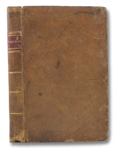 Impensis M. Carey, 1808. Full-Leather. Very Good/No Jacket. Ink note from previous owner on front en...