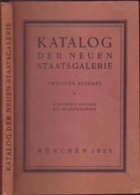 image of Katalog der Neuen Staatsgalerie. Amtliche Ausgabe 3. Auflage