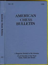 image of American Chess Bulletin: Volume 33