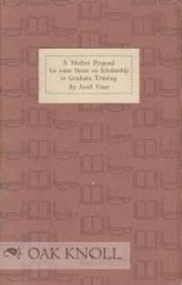 Princeton: Princeton University Press, 1953. stiff paper wrappers. 12mo. stiff paper wrappers. (ii),...