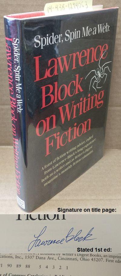 Cincinnati: Writer's Digest Books, 1988. First Edition. Hardcover. Large octavo; VG/VG; black spine ...