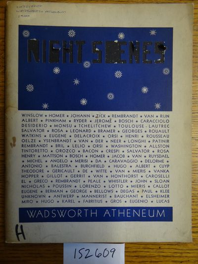Hartford, Connecticut: Wadsworth Atheneum, 1940. Edition of 400 copies. Softcover. Good+ contents; c...