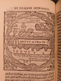 Hoc volumine continentur… Macrobii interpretatio in Somnium Scipionis a Cicerone confictum : euisdem Saturnalia libri septem