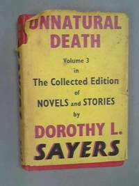 image of Unnatural Death (The collected edition of detective stories of Dorothy L. Sayers)