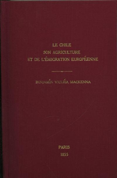 Paris: Imprimerie et Librairie d'Agriculture et d'Horticulture de Mme. V. Bouchard-Huzard, 1855. Fir...
