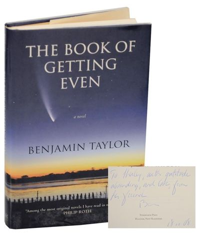 Hanover, NH: Steerforth Press, 2008. First edition. Hardcover. First printing. Taylor's second novel...