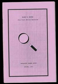 Elsey's Books: Catalogue Number Seven, Spring 1997: Fine First Edition Mysteries